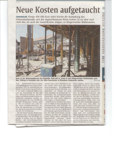 2ter Zeitungsartikel