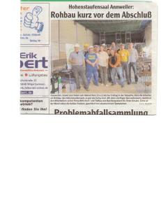 3ter Zeitungsartikel